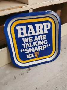 Harp_advertising_drinks_tray