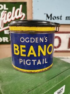 Ogdens_beano_pigtail_advertising_tin