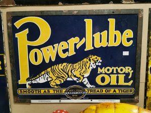 Power_lube_motor_oil_enamel_advertising_sign