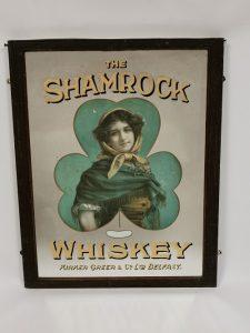 Shamrock_Irish_whiskey_advertising_mirror