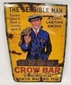 The_Sensible_Man_enamel_advertising_sign