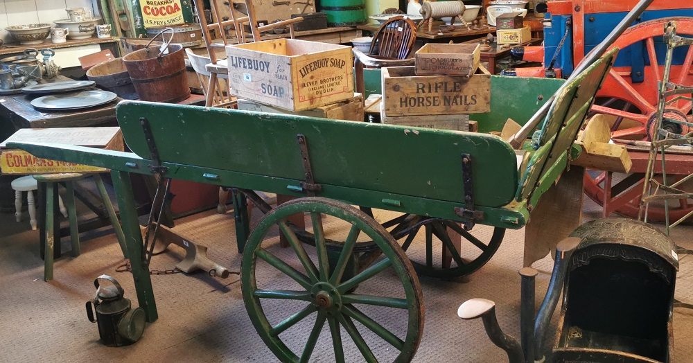 19th. C. butcher's cart