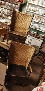 Orkney pine and rush chairs
