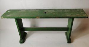 Painted pine stool