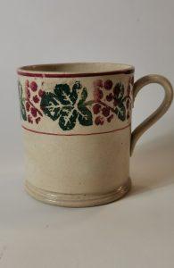 Spongeware mug