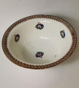 Spongeware potato bowl