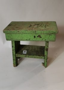 Victorian painted pine stool