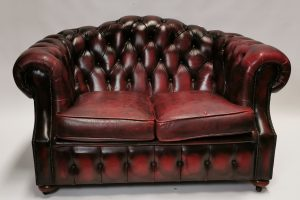 Lot 242 - Antique Interior Two-Seater Chesterfield Sofa