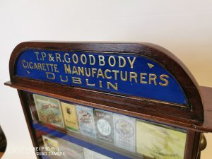 Goodbody Cigarette Cabinet - Victor Mee Auctions Ireland