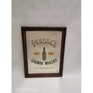 Persses Whiskey Ireland Advertising Mirror Victor Mee Auctions Ireland