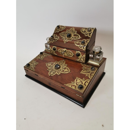 Walnut Antique Writing Box - Victor Mee Auctions