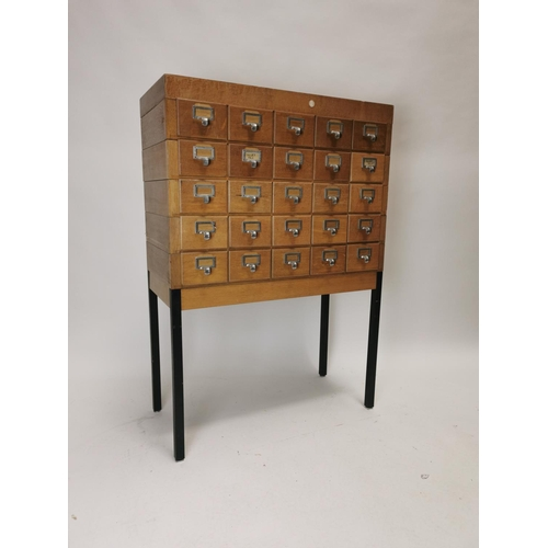 Index Drawers - Victor Mee Auctions
