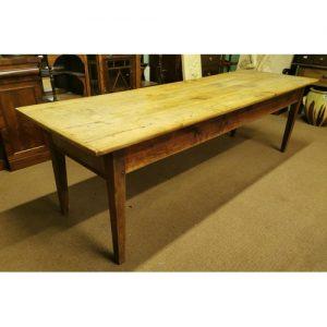 Elm Farmhouse Table - Victor Mee Auctions