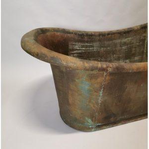 Copper Roll Top Bath